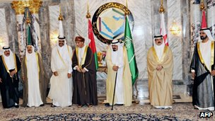 Gulf Co-operation Council (GCC) leaders and officials at a 2012 summit in Riyadh