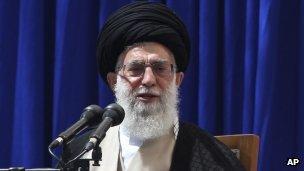 Iranian Ayatollah Ali Khameini