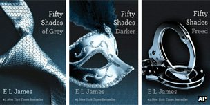 Fifty Shades of Grey trilogy by EL James