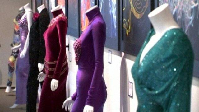 Whitney Houston's dresses up for auction