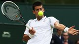 Defending Wimbledon champion Novak Djokovic