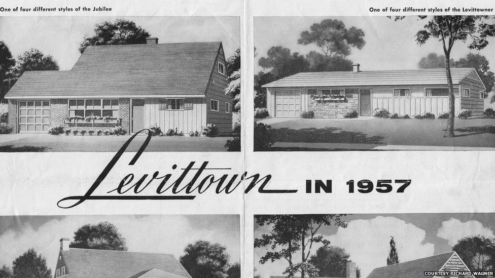 Bbc News Vintage Levittown In Photographs