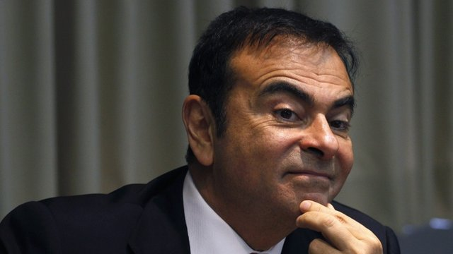 Carlos Ghosn, president and CEO of Nissan
