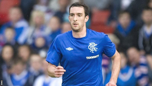 Rangers defender Lee Wallace