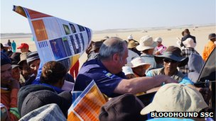 Richard Noble in S Africa