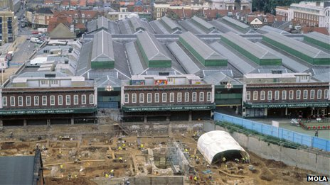 Spitalfields excavation