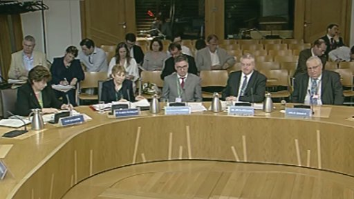 The panel of witnesses who gave evidence