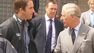 Prince Charles and Ben Ainslie