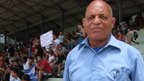 Antonio Garces Segura is vice-president of Cuba's Football Association