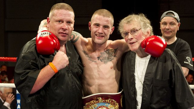 Billy Nelson (left) and Ricky Burns