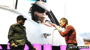 Bobby Womack and Damon Albarn