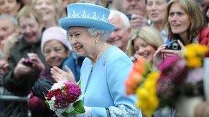 The Queen is on a two-day visit to Northern Ireland