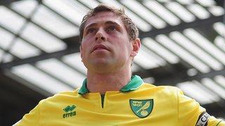Norwich striker Grant Holt