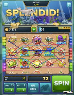 Zynga slots screenshot