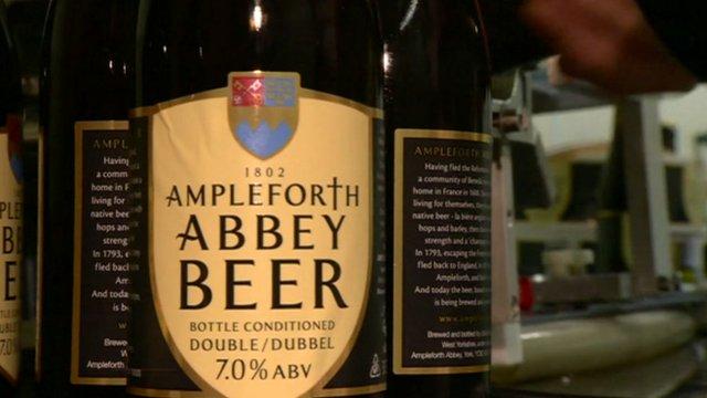 Ampleforth beer