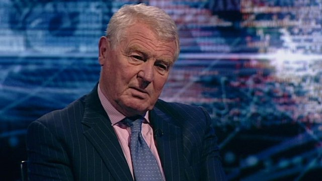 Former UN High Representative in Bosnia and Herzegovina Paddy Ashdown