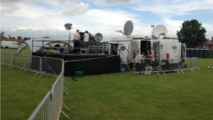 BBC Radio Lincolnshire getting prepared
