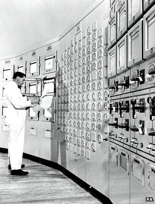 File image of a nuclear power station's control room (Image: PA)