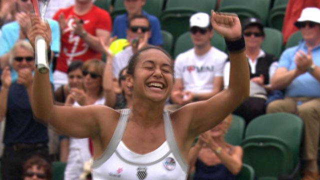 Highlights - Heather Watson storms through