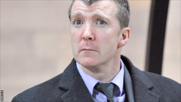 Stockport County manager Jim Gannon
