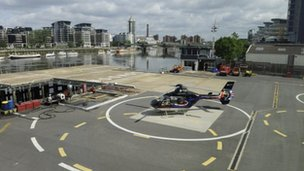 London Heliport image