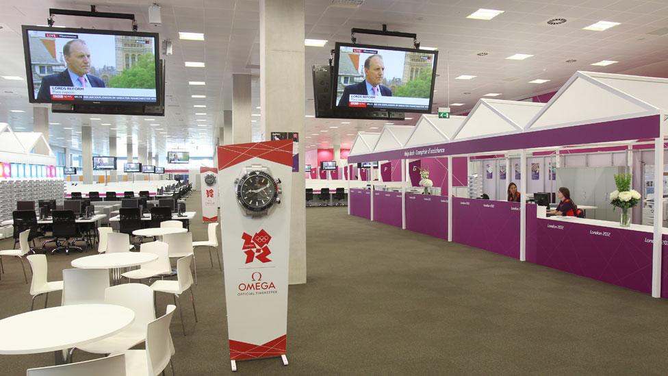 Main Press Centre