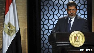 Mohammed Mursi, 25 June 2012