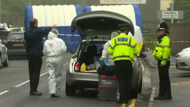 Stabbing murder investigation underway near Maesteg, Bridgend.
