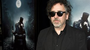 Tim Burton at the premiere of Abraham Lincoln: Vampire Hunter
