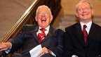 First Minister Ian Paisley and Deputy First Minister Martin McGuinness