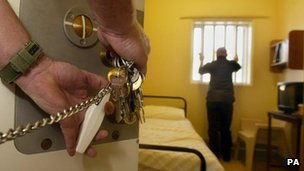 Prisoner locked in cell in Maghaberry