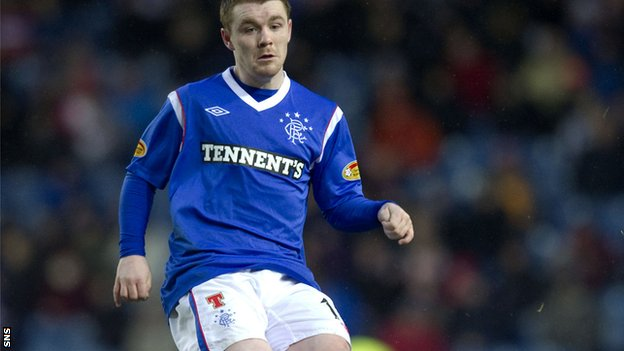 Fleck in action for Rangers