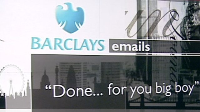 Barclays email message