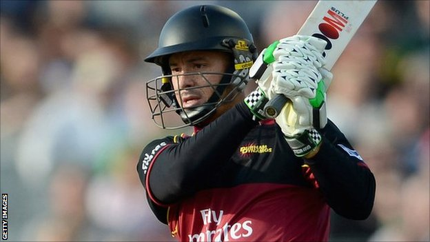 Durham opener Herschelle Gibbs