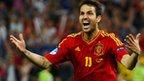 Cesc Fabregas wins Euro 2012 semi-final for Spain