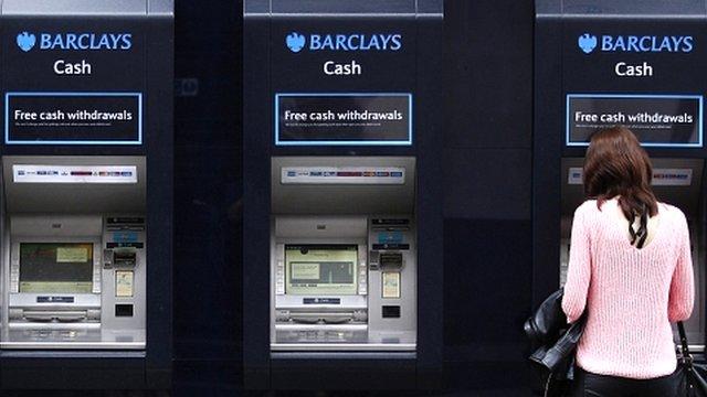 Barclays cashpoints