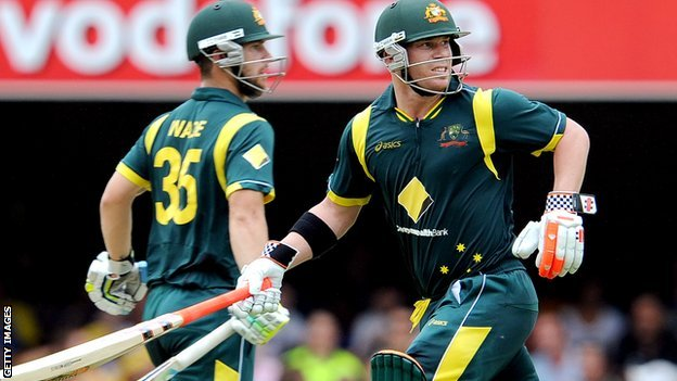 Matthew Wade and David Warner