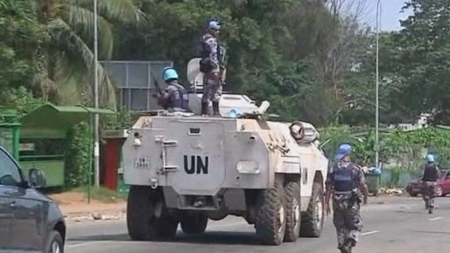 UN on patrol