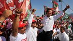 Enrique Pena Nieto, presidential candidate for the Institutional Revolutionary Party (PRI)