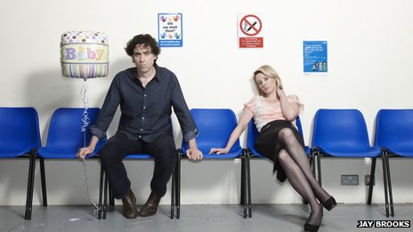 Stephen Mangan and Lisa Dillon (Photo: Jay Brooks)