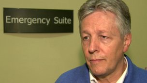 Peter Robinson said the infrastructure needed to improve