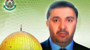 Hamas picture of Kamal Ghanaja