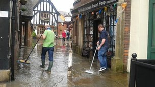 Mopping up in Newark