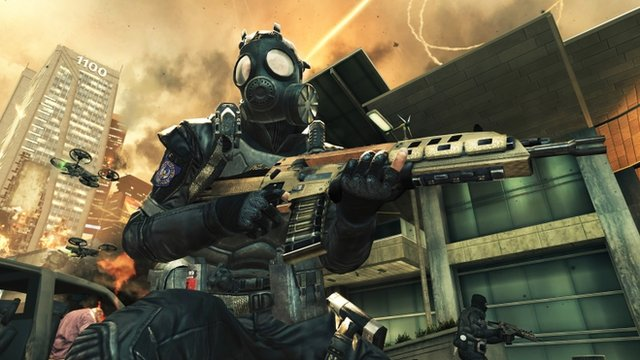 "This video game image released by Activision shows a scene from ""Call of Duty: Black Ops II."""