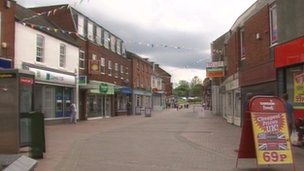 Cannock High Street