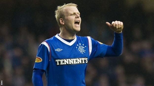 Steven Naismith has been wearing the blue of Rangers since 2007