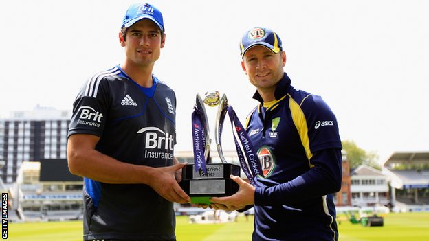 Alastair Cook Michael Clarke
