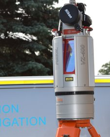 The 3D laser scanner