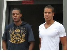 Meshack Wright and Jack Rodwell