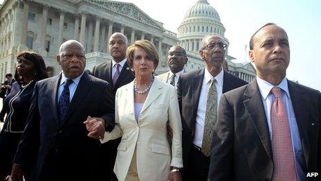 House Democrats walk out on the Eric Holder contempt vote